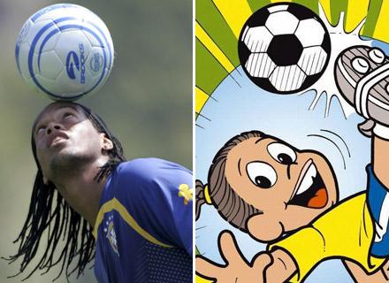 Sportz8ne revista de esportes by fraja8 uol blog ronaldinho gacho foi outro jogador de futebol que se tornou personagem de hq em 2005 ele ganhou trao de mauricio de sousa fandeluxe Gallery