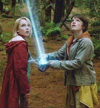 Jess e Leslie descobrem a entrada de um mundo fant�stico